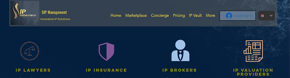SIP Management: Intellectual property services providers network
