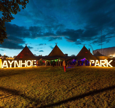 Anyhoe Backstage at Wilderness Festival