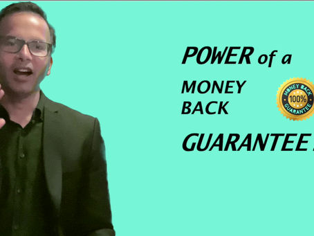Backing your offer with a guarantee is smart 🧠! It can be a huge competitive edge 👊. Here is why...