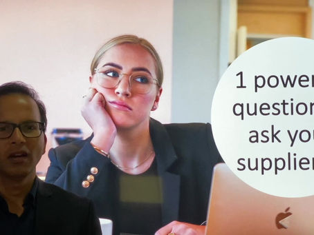 If you are like most businesses, you are probably overdue for this chat 📞 with your suppliers... 👇