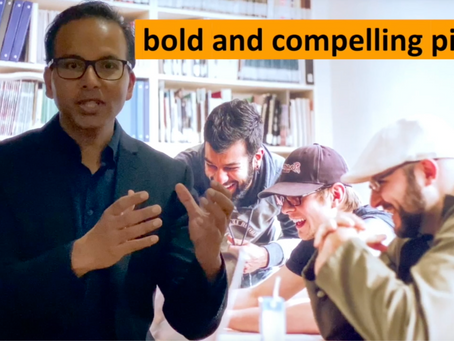 Sales principle (4 of 5) - The value of a Genuine, Bold 👊 & Compelling pitch - (1 min watch) 👇