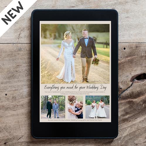 Digital Wedding Planner with Bonus eBook - iPhone/iPad/Mac compatible