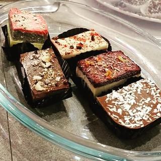 vegan cake selection
