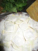gevulde pasta brasato rundstoofvlees