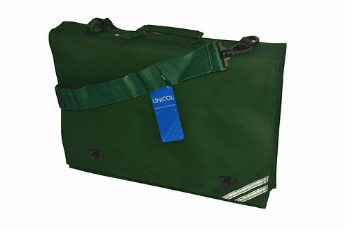 Green Woodchurch C of E Satchel