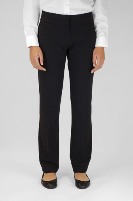 Black Trutex Girls Trousers