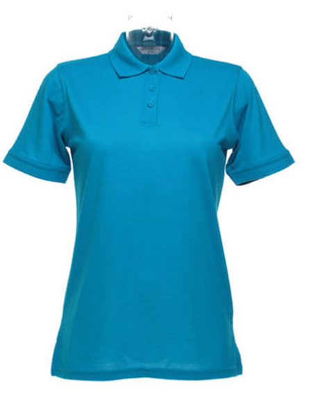 Turquoise KK703 Women's Klassic Polo