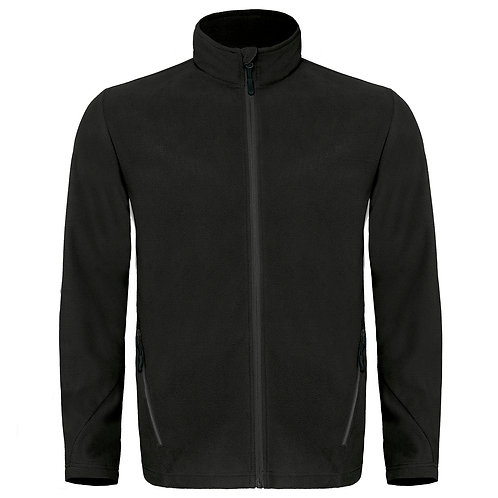 Black Microfleece with Wirral Met Oval Campus Logo