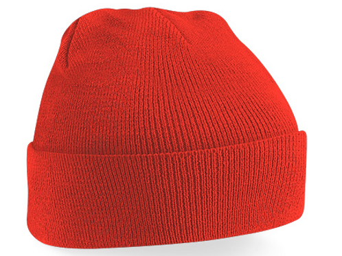 Bright Red B45 Original Cuffed Beanie