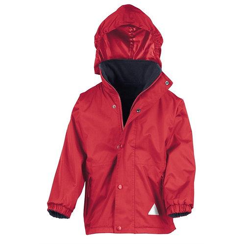 Red Prenton Rev. Coat (Stormstuff, logo & print)
