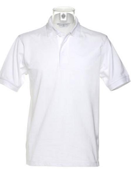 White KK403 Men's Kustom Kit Polo