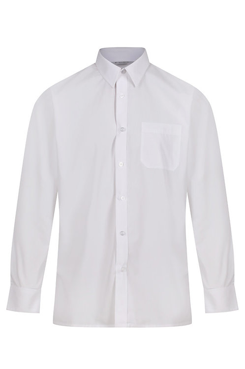 Long Sleeved White Shirts (Twin Pack)