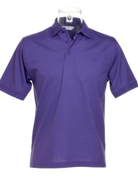 Purple KK403 Men's Kustom Kit Polo