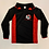 Thumbnail: Black and Red Birkenhead Football Shirt (Boys)