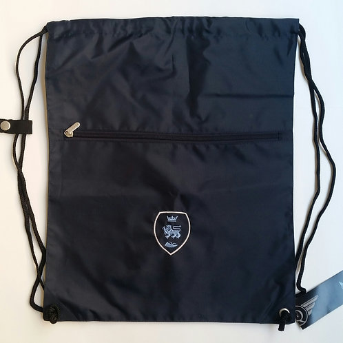 Navy PE Bag with Pensby Logo