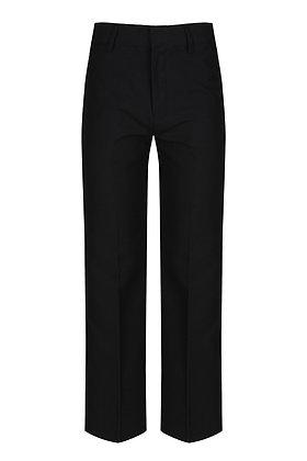 Trutex Black Slim Fit Trousers