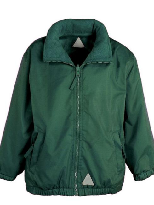 The Mistral Reversible Jacket in Bottle Green