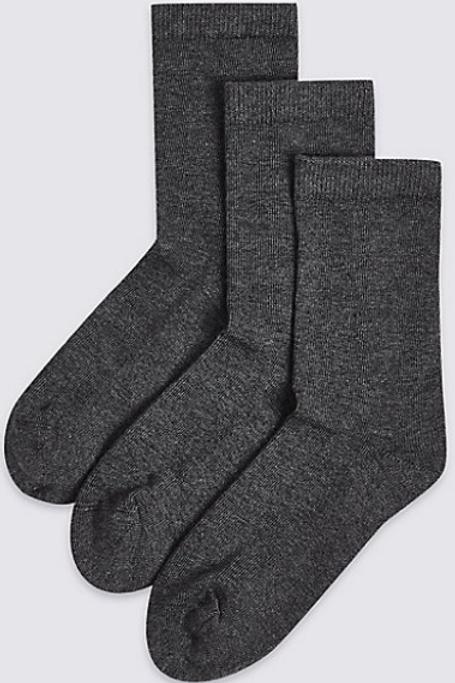 3 Pack of Boys Short Socks