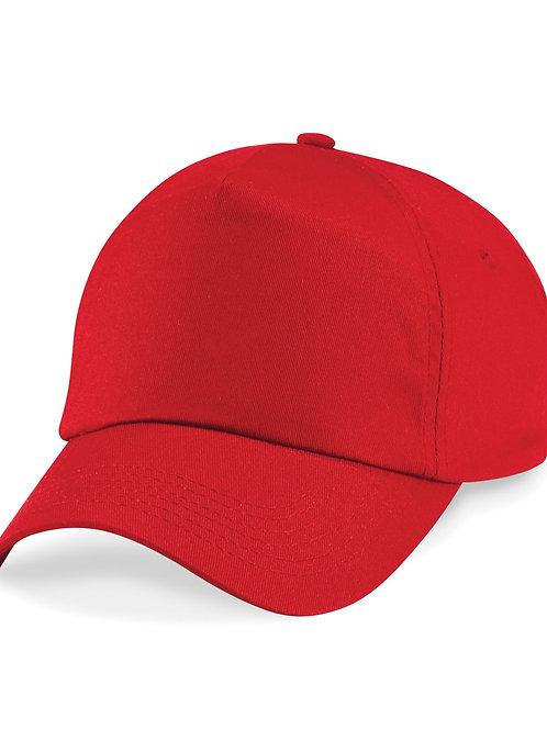 Red Beechfield Baseball Cap