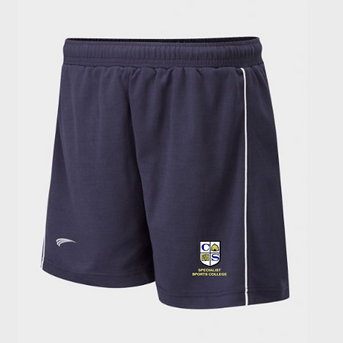 Clare Mount PE Shorts with Piping