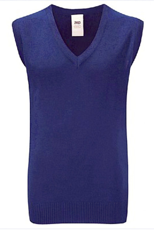 Royal Knitted Tank Top with Our Ladies logo