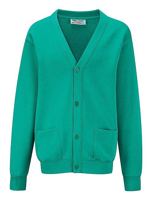 Jade  'Blue Max' Sweatshirt Cardigan