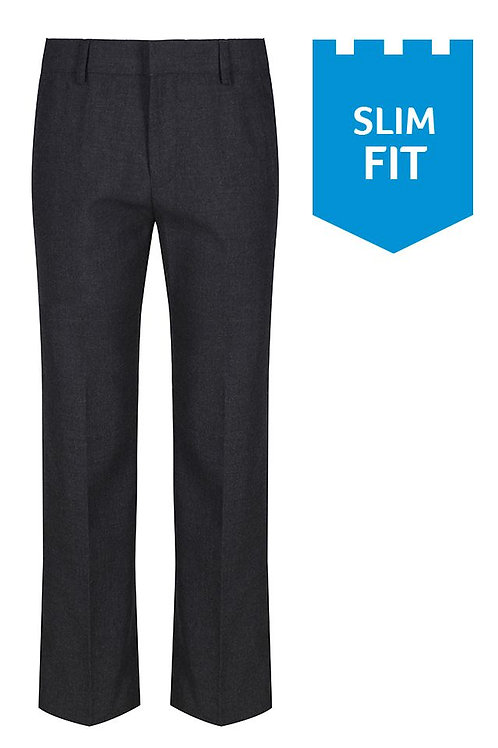 Sturdy Fit elastic back trousers