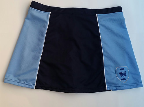 Navy and Sky PE Skorts with Pensby Logo