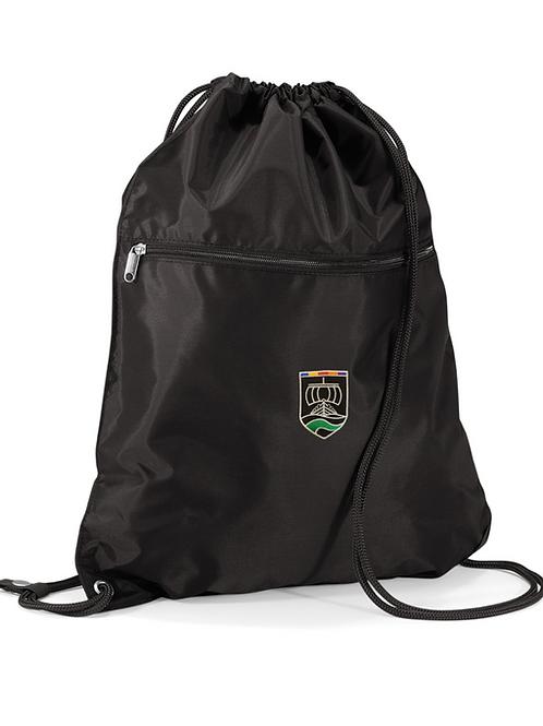 Black PE bag with Neston Logo