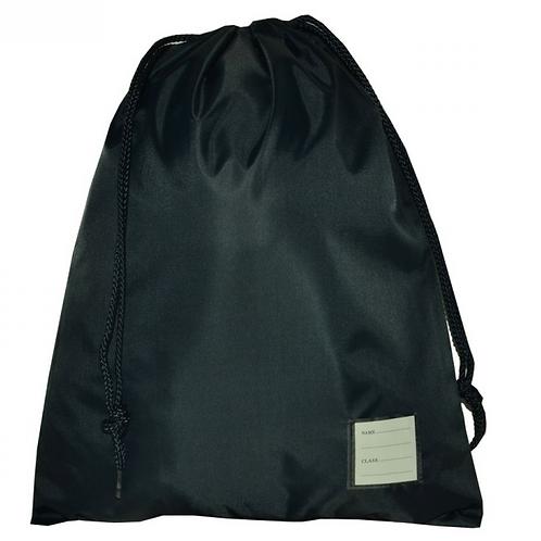 Navy PE Bag with Green Meadow Logo