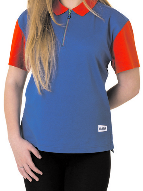 Red and Blue Guide Polo