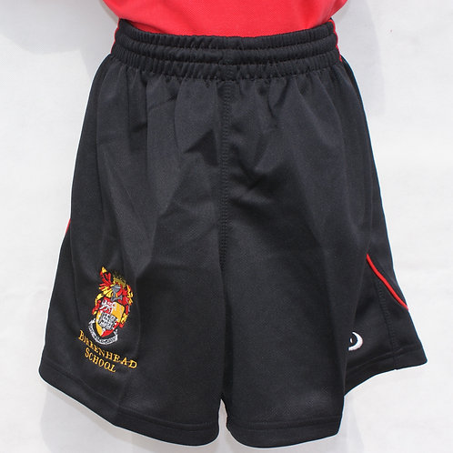 Black and Red Shorts