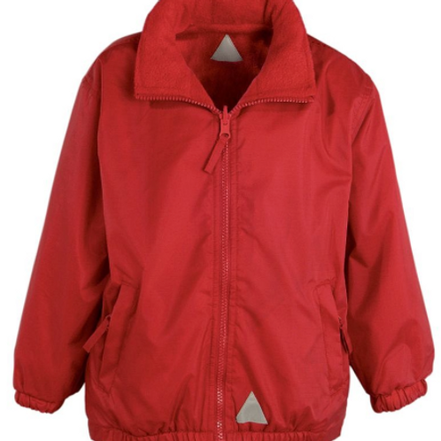 The Mistral Reversible Jacket in Red