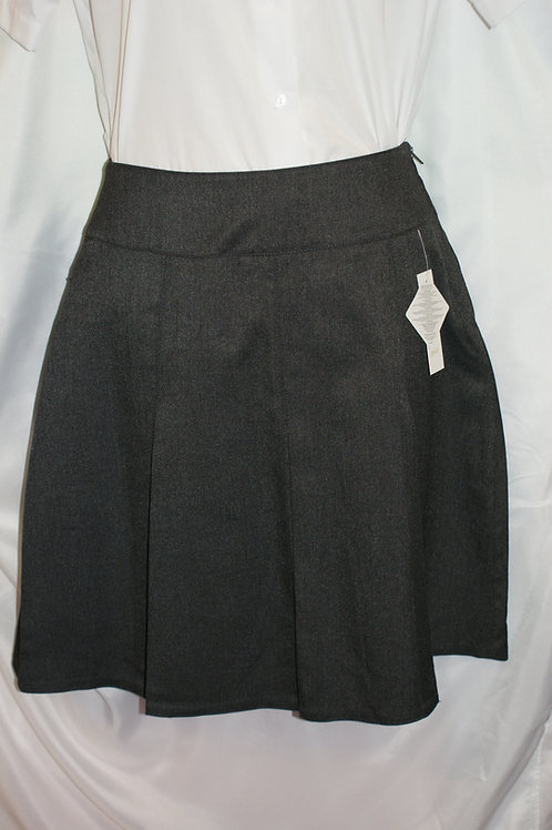 Grey Stitchdown Skirt