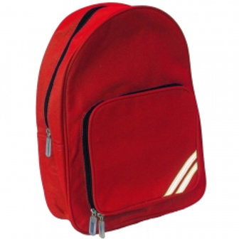 Small Red Rucksack