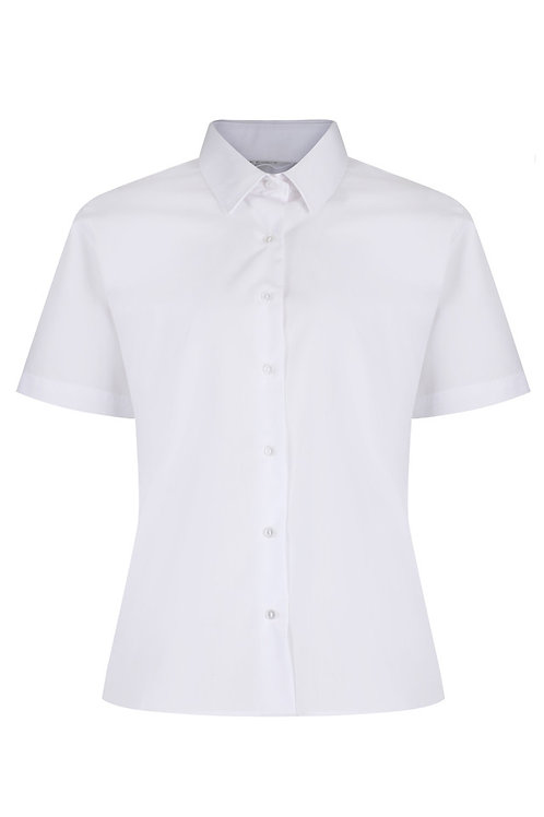 Button-up Collar Blouses (twin pack)