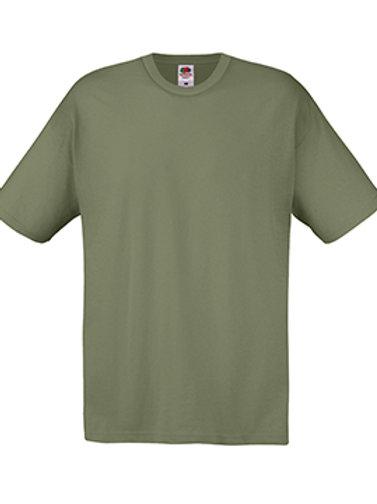 Classic Olive Fruit of the Loom Original T-shirt
