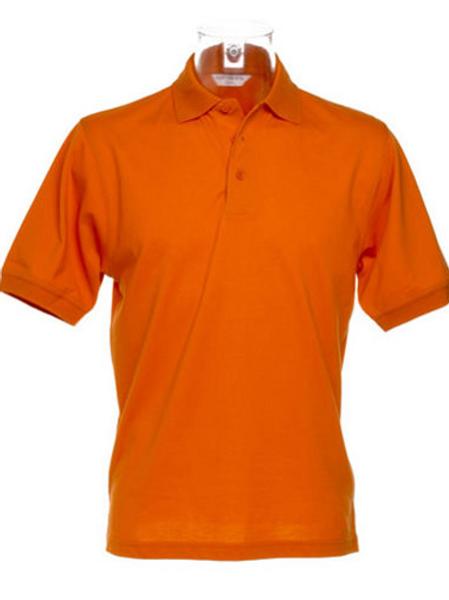 Burnt Orange KK403 Men's Kustom Kit Polo