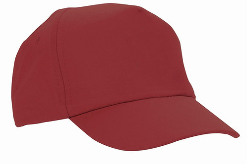 Maroon Baseball Cap (Plain or Embroidered)