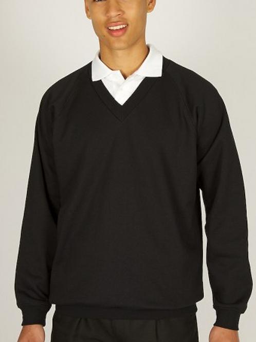 Navy Sweatshirt(V-Neck) with Higher Bebington Logo