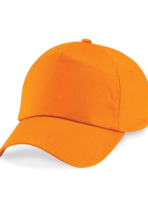 Orange Beechfield Baseball Cap