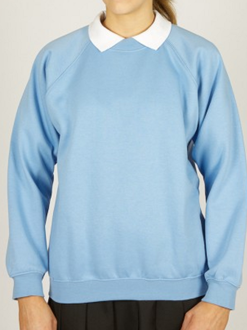 Sky Sweatshirt with Riverside Logo