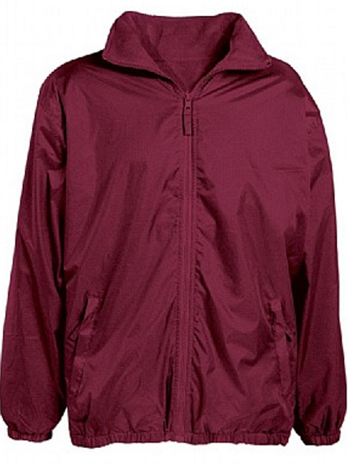Maroon Rev. Coat (Plain or with Stanton Road Logo)