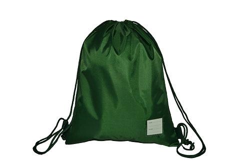 Green Drawstring PE bag