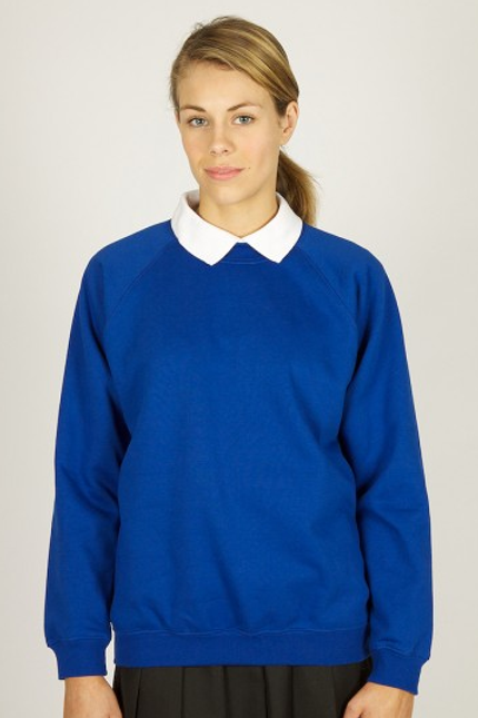 Royal Sweatshirt with Kingsway Primary Logo