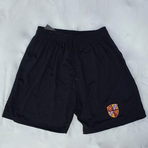 Black Trutex PE Shorts with Oldershaw Logo