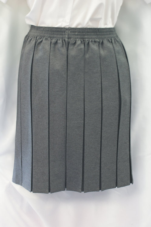Box Pleat Skirt (Available in Black, Grey or Navy)