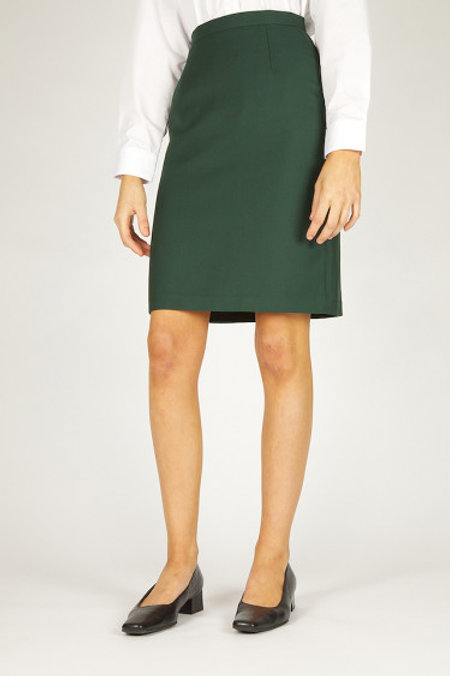 Green Trutex A-Line Senior Skirt