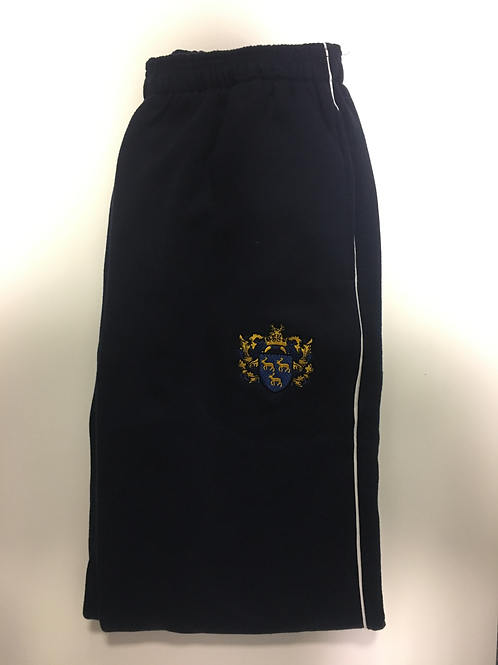Navy PE Trackpants with Green Meadow Logo
