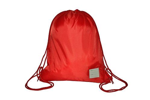 Red Drawstring PE Bag